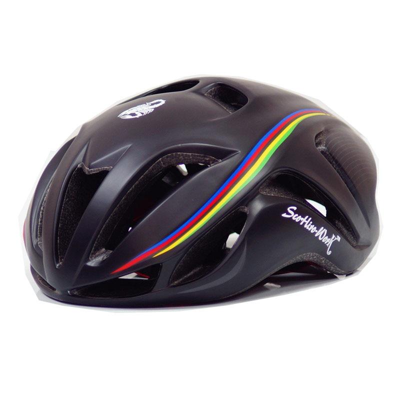 Mens Bicicleta ciclismo Casco Cubierta Capaceta cascos de ciclismo mtb Bicicleta de la Bici Casco integralmente moldeado Casco ciclismo Casco de bicicleta