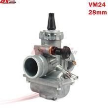 Mikuni-carburateur VM24 PE28 28mm   Carb pour 125 140 150 160cc Dirt Pit Bike ATVs moto Performance