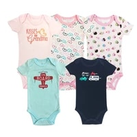 fantasia baby bodysuit infant jumpsuit overall short sleeve boys and girls baby clothing set summer cotton babys sets