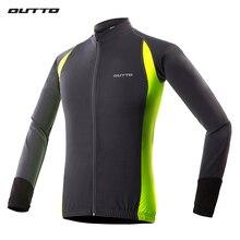 Outto-maillot de cyclisme à manches longues pour hommes, séchage rapide, chemise compressée du vélo ou vtt