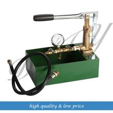 100Bar Manual Hydraulic Pump Testing Pump Pipeline Pressure Test tool