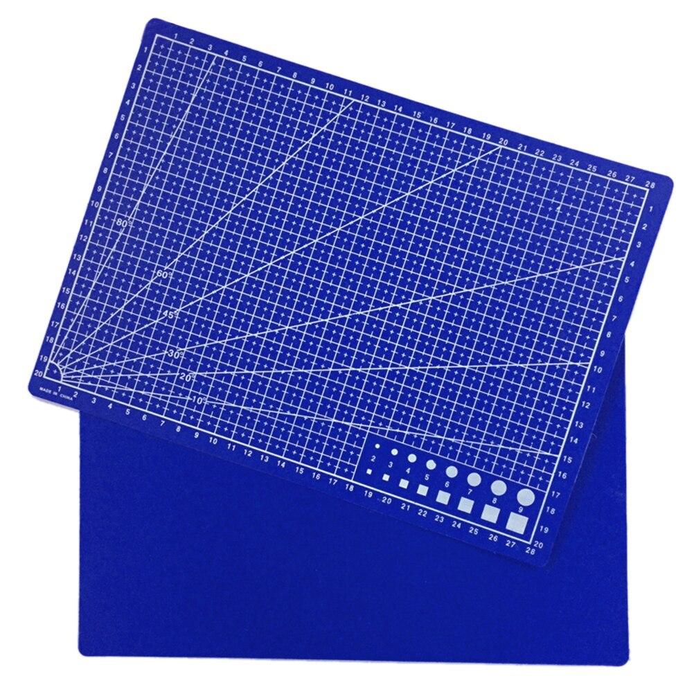 A4 сетка для резки ковриков Двусторонняя самозаживляющая режущая пластина, резка картона ПВХ ручная работа своими руками пэтчворк разделочная площадка 30*22 см