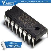 5PCS CM6800 DIP16 CM6800TX DIP-16 CM6800G CM6800I DIP