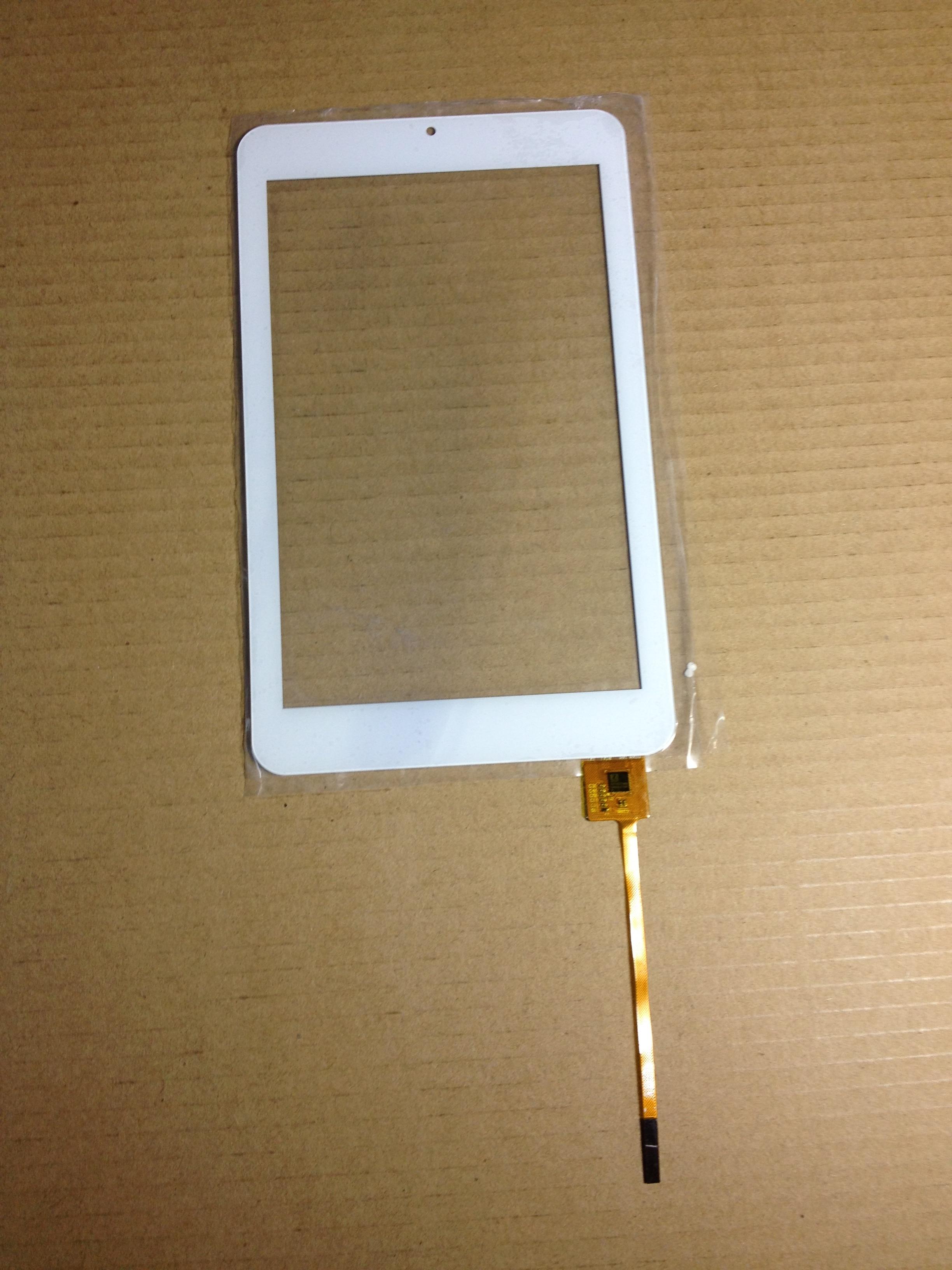 Blanco de 7 pulgadas para Digma iDsQ7 Ritmix RMD-770 Turbopad 702 tablet pc pantalla táctil capacitiva panel digitalizador de vidrio