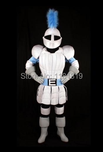 التميمة لانسر فارس بطل زي التميمة بدلة فاخرة مخصصة أنيمي تأثيري mascotte موضوع كرنفال