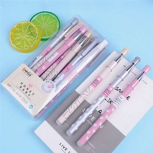12pcs 0.38mm Erasable Pen Blue Ink Magic Ballpoint Pen Writing School Stationery  students writing Gel pen A30
