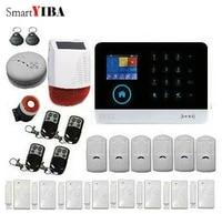 SmartYIBA     systeme dalarme domestique intelligent  wi-fi  3G  WCDMA  voix francaise  espagnole  russe  anti-cambriolage  sirene a energie solaire  detecteur de fumee et dincendie