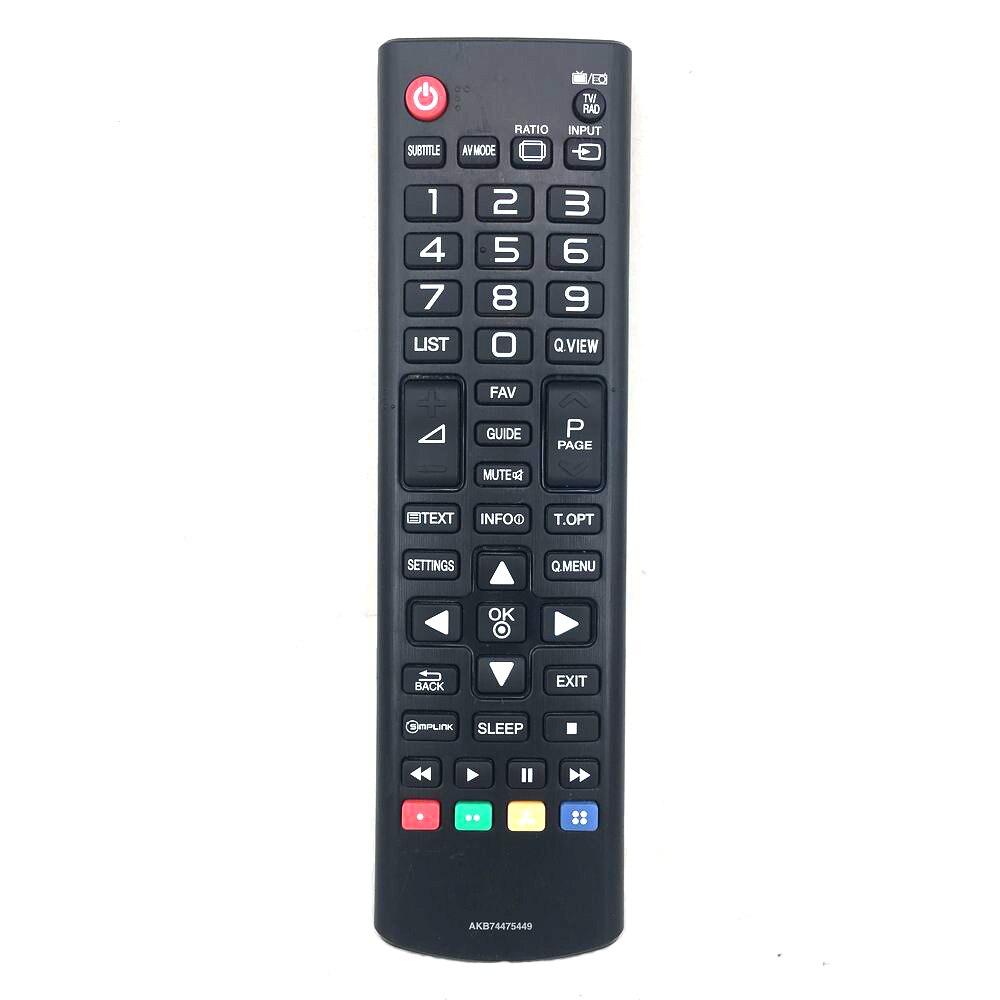 Б/у оригинальный пульт дистанционного управления AKB74475449 для LG TV Fernbedienung
