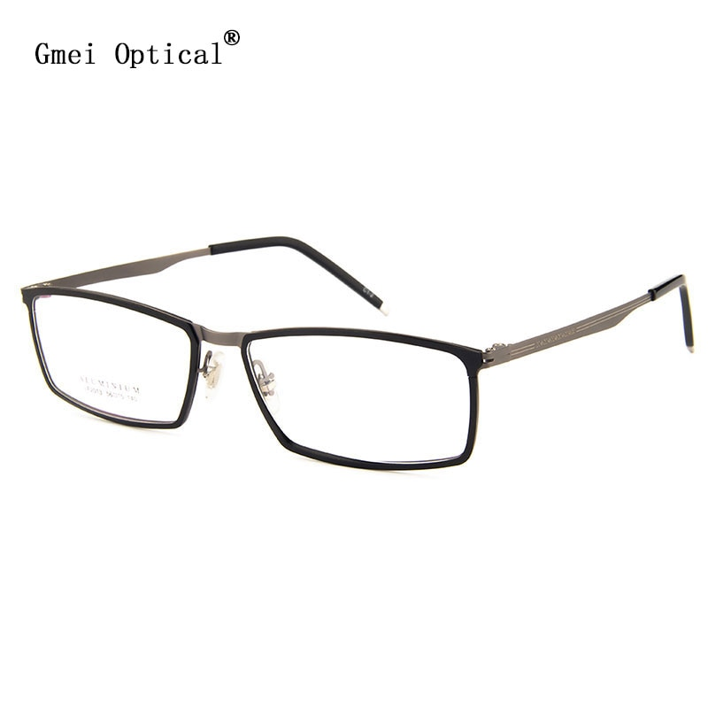 Gmei Optical LF2013 Metal Full-Rim Frame Eyeglasses for Women and Men Eyewear Spectacles
