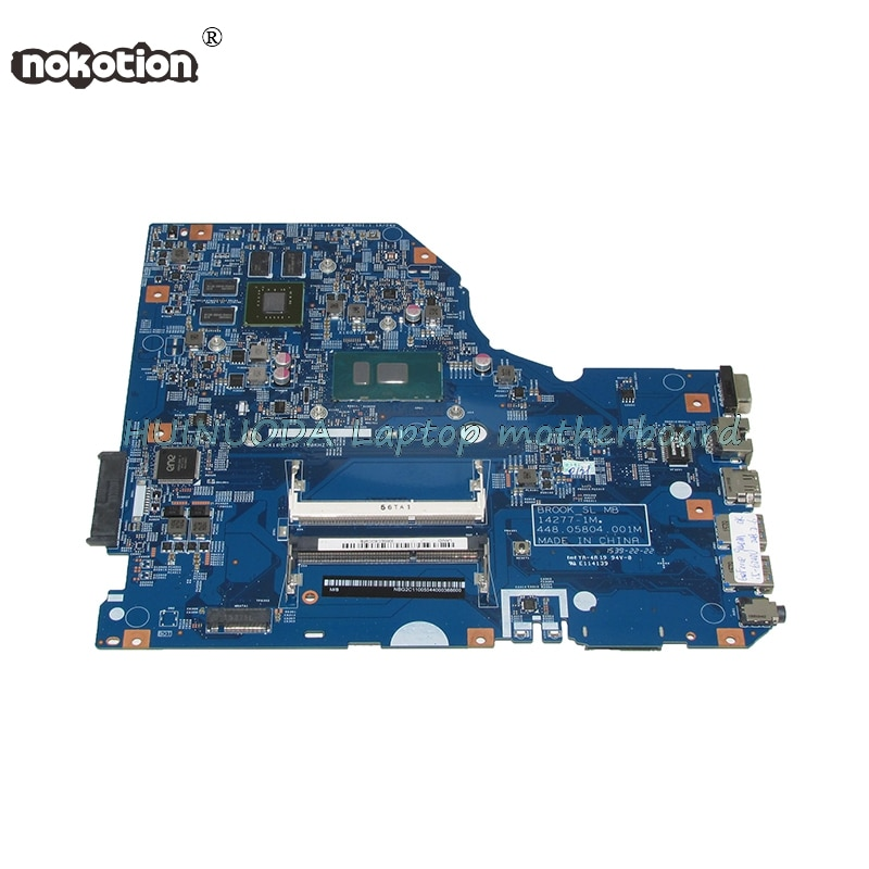 NBG2C11005 NB.G2C11.005 laptop motherboard for acer Asipre E5-772G 448.05804.001M SR2EY I5-6200U 940M Graphics Main board works