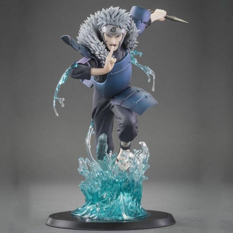 19cm Anime Naruto Shippuden XTRA Shodai Hokage Senju Tobirama PVC Action Figure Collection Model Toys