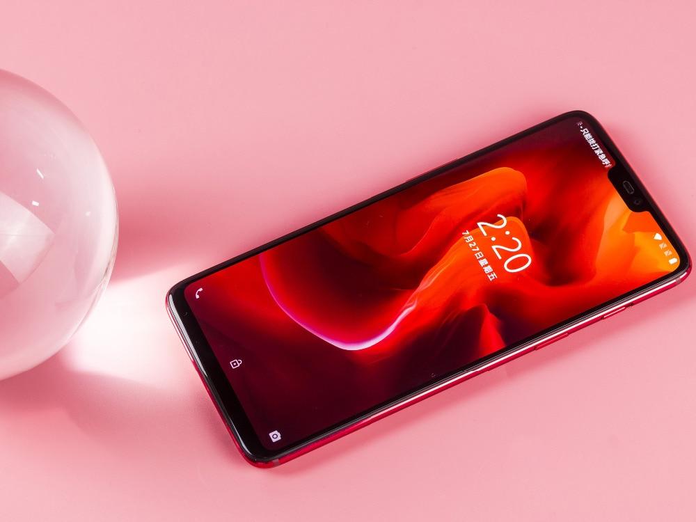 Фото4 - Оригинальный смартфон Oneplus 6, новая версия разблокировки, 4G LTE, экран 6,28 дюйма, 8 ГБ ОЗУ 256 ГБ, на две SIM-карты, 1080x2280 пикселей, мобильный телефон