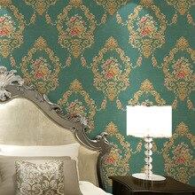 Papier peint Mural 3d Non tissé   Offre spéciale, pour chambre à coucher, salon, TV, murale, pastorale européenne, rouleau de papier peint