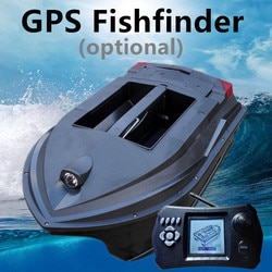 Controle remoto isca barco inventor de peixes gps opcional ferramenta de pesca navio eco sonar pesca carpa sonar navio rc