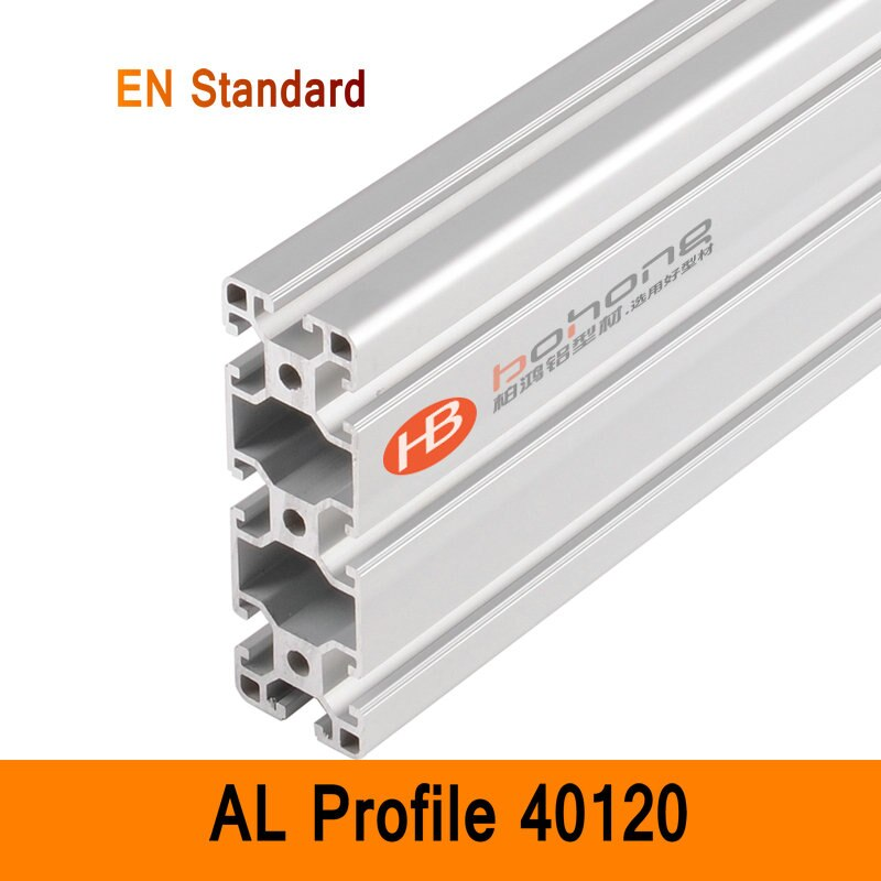 40120 Perfil De Alumínio EN AL Extrusão Suportes Standard Industrial DIY Estilo Bancada CNC Impressora 3D DIY Construção CE ISO