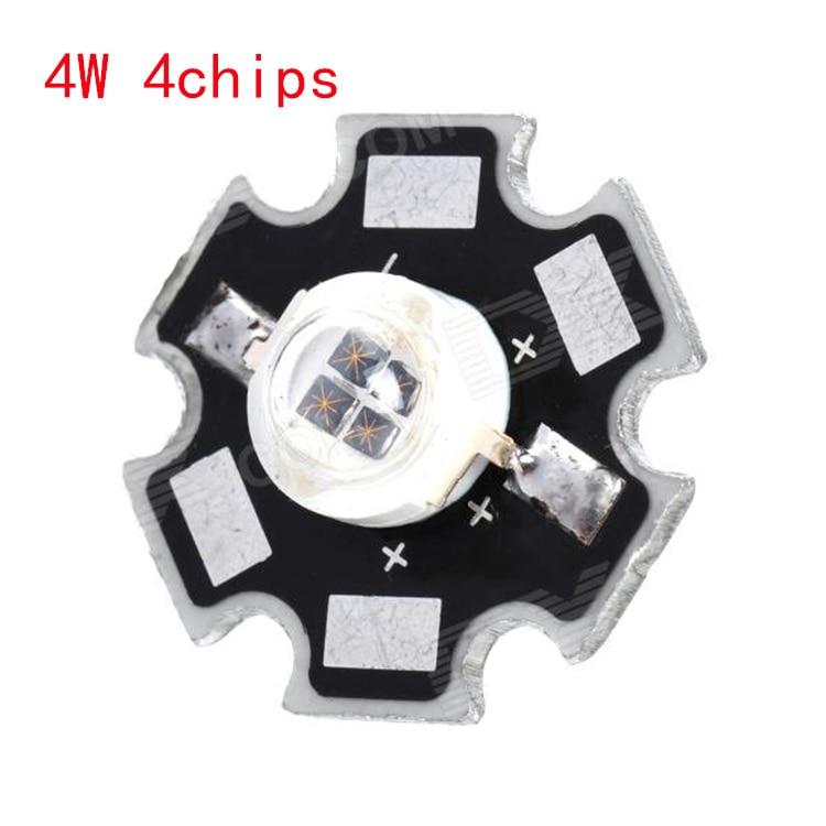 Бесплатная доставка, 1 Вт, 3 Вт, 5 Вт, инфракрасный ИК 850 нм, 940нм, высокая мощность, светодиодный излучатель, DC1.5-1.8V, с 20 мм звездным платиновым ос...
