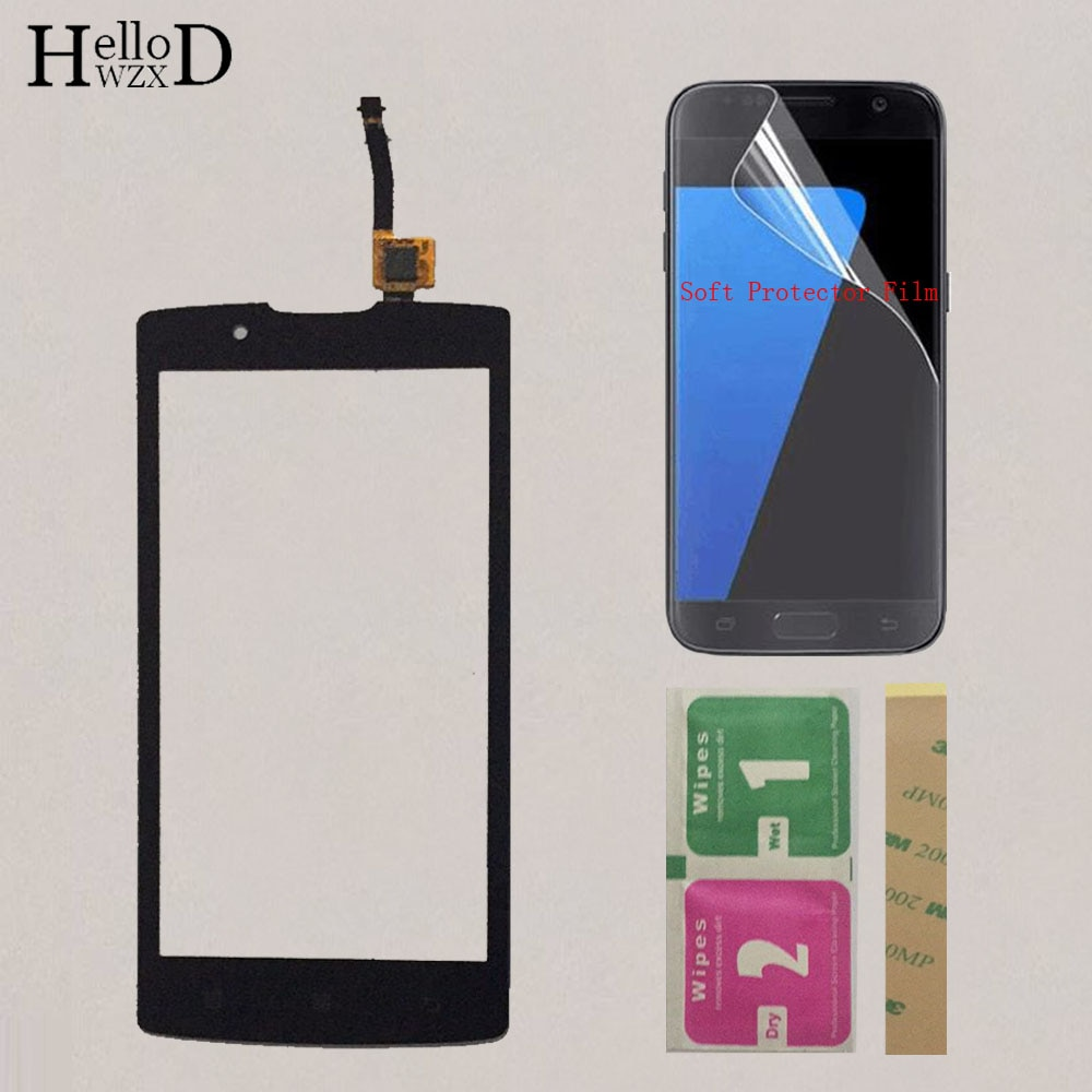 4.5'' Mobile Touch Screen For Lenovo A2010 A2010A Phone Touch Panel Front Glass Lens Digitizer Sensor Screen + Protector Film недорого
