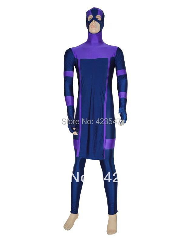 Dark blue & purple The Avengers Marvel New Hawkeye Superhero Costume Carnival Party Halloween costumes