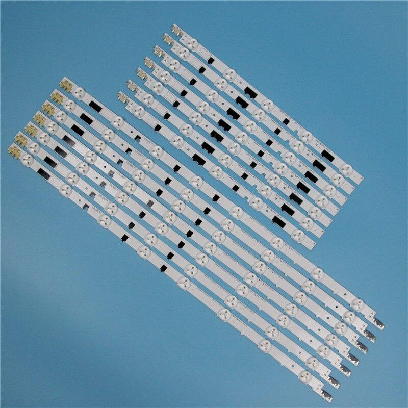832 مللي متر 14 قطعة/مجموعة LED صفيف القضبان لسامسونج UE40F6410AK UE40F6410AS UE40F6410AW التلفزيون الخلفية LED قطاع ضوء مصفوفة مصابيح العصابات