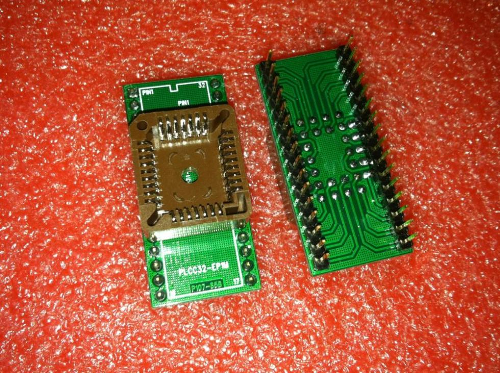 Domestic IC Test Socket PLCC32 turn DIP32 adapter adapter blocks the conversion Block burning seat parts In Stock
