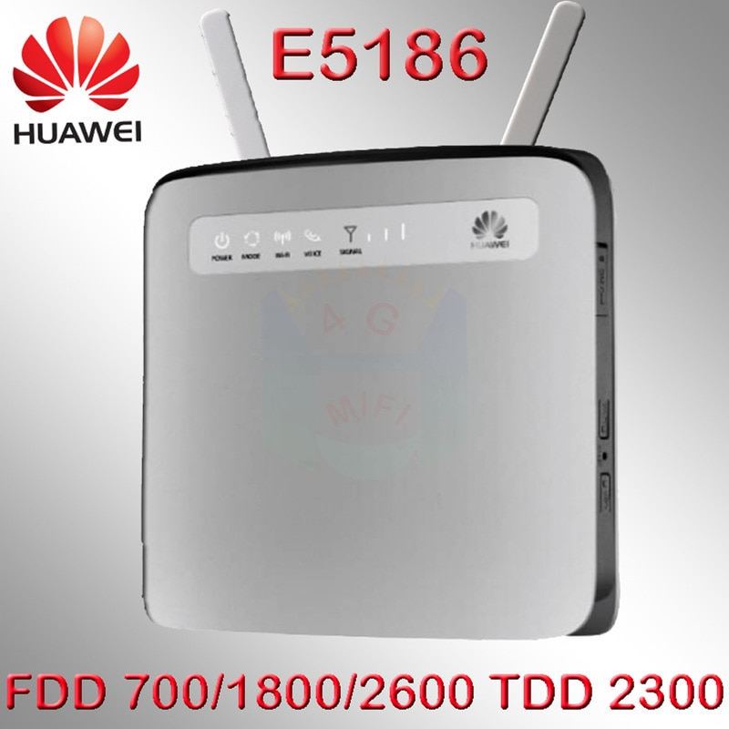Lte Cat6 разблокированный Huawei E5186, 300 Мбит/с, 4g LTE, Wi-Fi роутер, 4g lte, мобильный ключ e5186s, 4g модем rj45