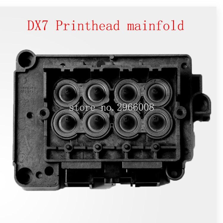 Бесплатная доставка! Оригинальный Новый эко растворитель DX7 печатающая головка Крышка для большого формата Xenons Wit-color Titanjet принтер коллекто...