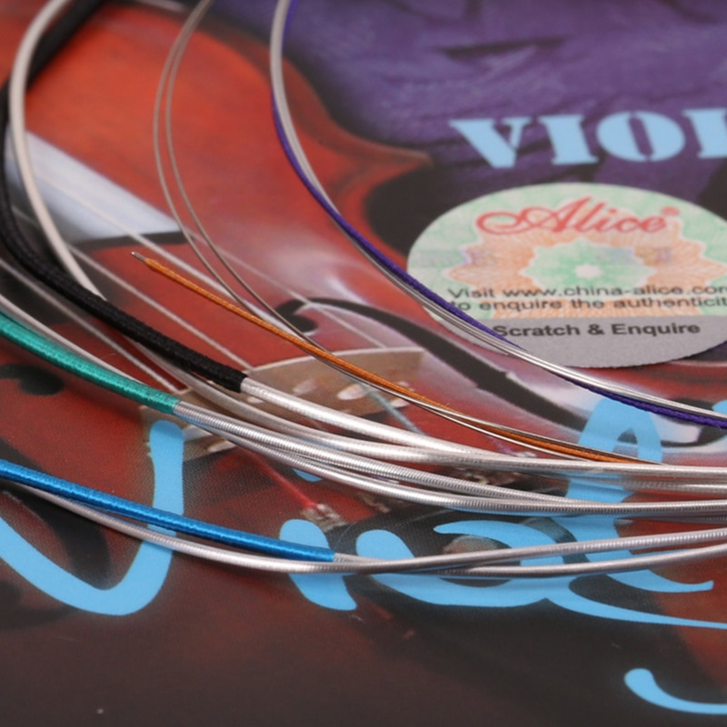 Alice A708 Professional Violin Strings Bowed Instrument Strings 5-string Set E-a E-b A D G enlarge