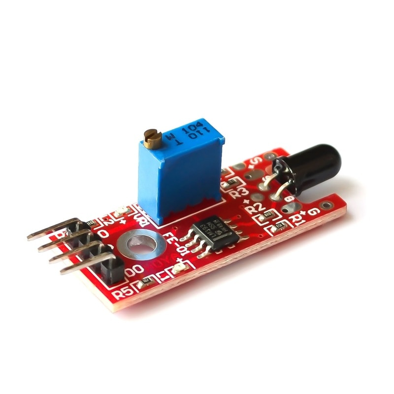 5pcs/lot KY-026 Flame Sensor Module Fire Detection Module Detects Infrared Receiver KY026 For Arduino