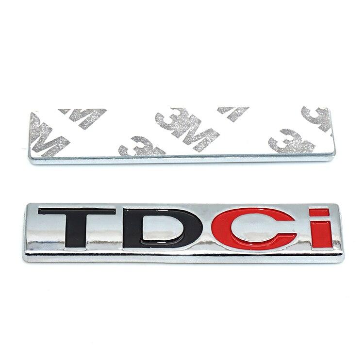 1X ABS TDCI samochodów tułowia Fender godło stylizacji dekoracji TDCI dla Focus Mondeo Explorer Mustang fiesta Escort Kuga eco sport