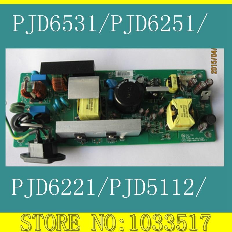 Projector Accessories power supply board for viewsonic PJD6221/PJD5112/PJD6531/PJD6251/PJD6212