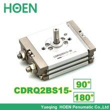 Compacte Rotary Actuator CRQ2 Rack & Pinion Type Air Pneumatische Cilinder CRQ2BS15-90 CDRQ2BS15-90 CRQ2BS15-180 CDRQ2BS15-180 C