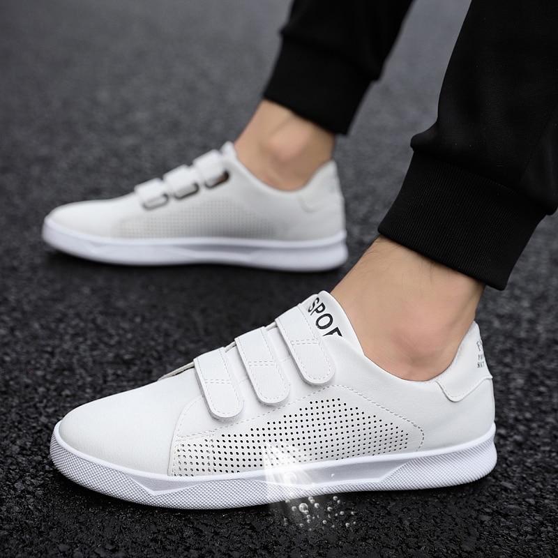 LAISUMK Atmungs Männer Sneaker Männlichen Schuhe Erwachsene Rot Schwarz Weiß Hohe Qualität Komfortable Nicht-schlupf Mode Weiche Männer Schuhe sommer