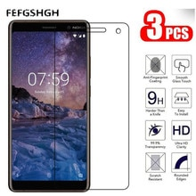 9H 2.5D Tempered Glass For Nokia 7 Plus Screen Protector Glass On The For Nokia 7 Plus Protective Fi