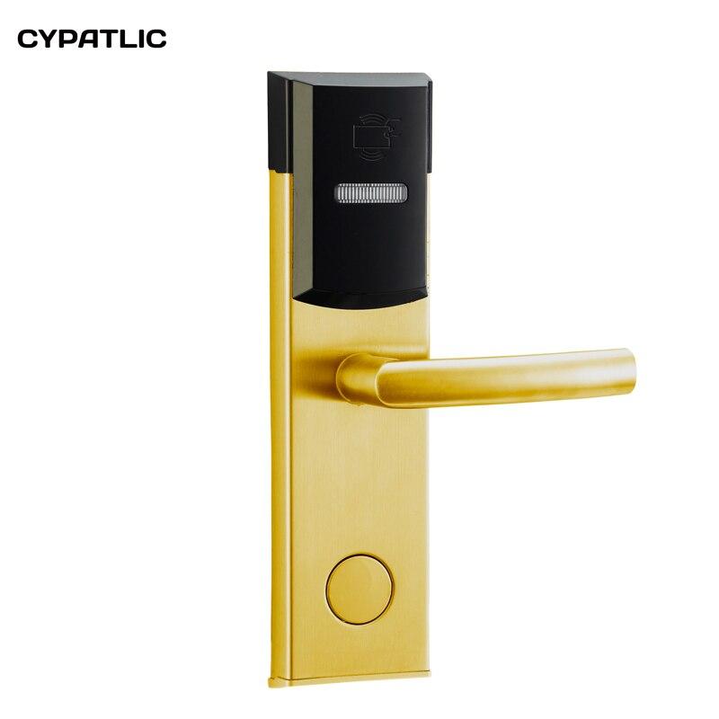 الذكية الرقمية الإلكترونية فندق أقفال بدون مفتاح قفل باب مع IC/قارئ بطاقة الهوية للشقق ، مكتب ، فندق الخ