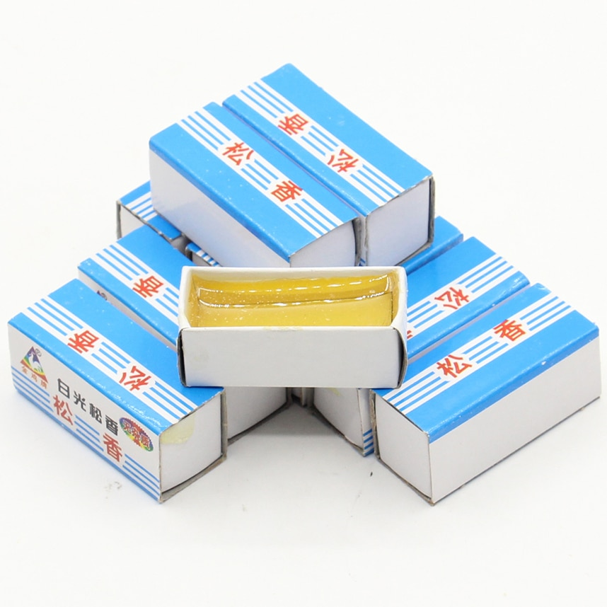 10pcs/lot high quality Carton Rosin Soldering Iron Soft Solder Welding Fluxes for rework soldering iron