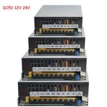 Zasilanie światła taśmy LED DC 12V moc do adaptera AC100V-240V 1.25A 2A 3A 4A 5A 10A 15A 20A 30A 40A 50A 60A zasilania
