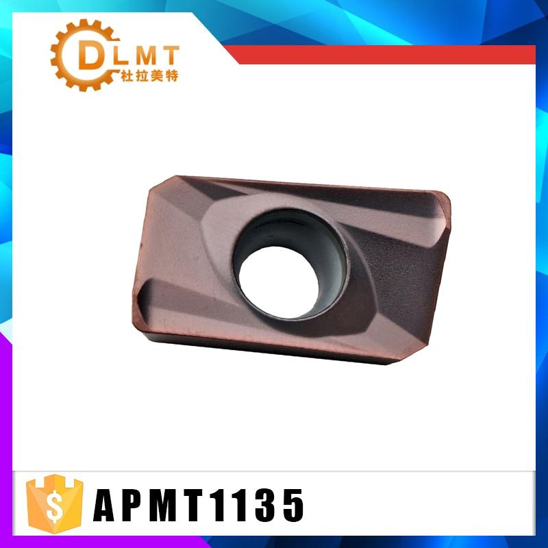10PCS High quality APMT1135 PDER H2 VP15TF  APMT1135PDER M2 VP15TF Turning Tool carbide inserts indexable milling insert