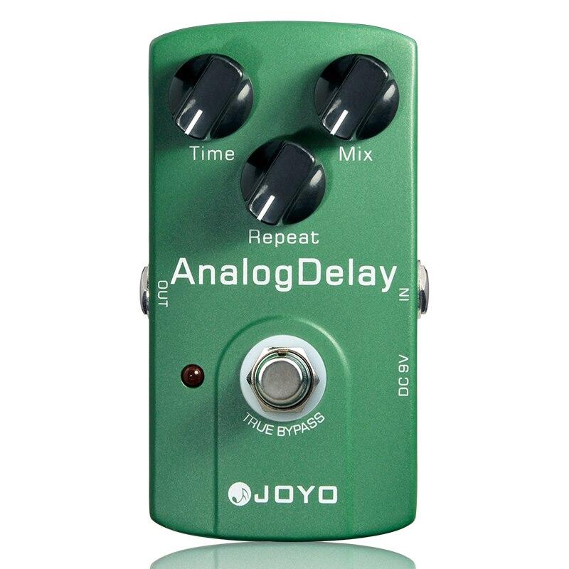 Joyo JF-33 analogique retard guitare électrique effet pédale véritable dérivation guitare effets accessoire guitare effet