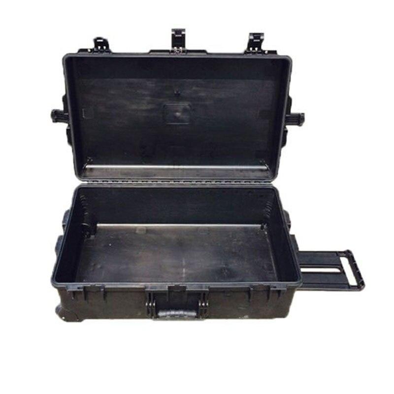 حافظة صلبة كبيرة من تريكاسيس M2950 مع رغوة مسبقة القطع