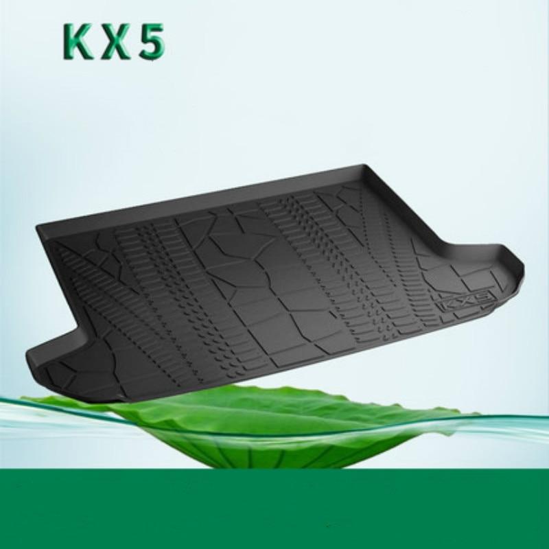 No Odor Custom High Side Boot Mat Waterproof Car Trunk Mats for Kia K3S K4 KX3 KX5 NIRO Sportage Borrego Sorento 5 and 7 Seats