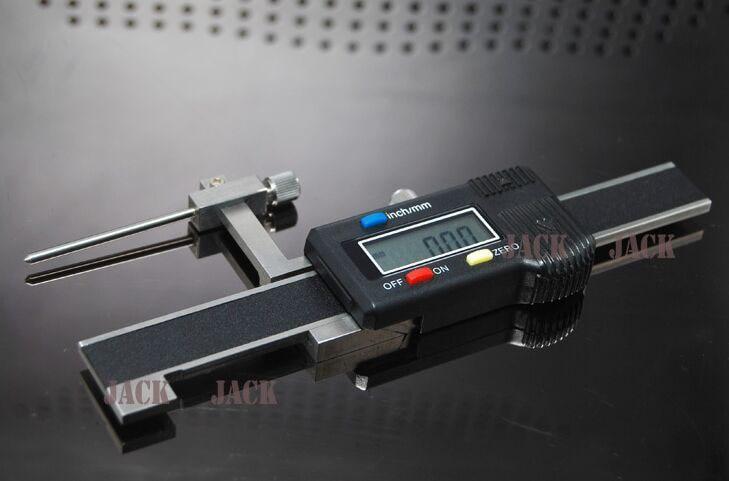 -20mm. + 20m Digital paso y la brecha de electrónica digital paso brecha de alta/calibrador Vernier de profundidad cara diferencia medidor