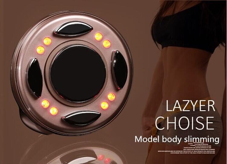 RF LED kawitacji ultradźwiękowy wyszczuplający masażer do ciała, antycellulitowy spalacz tłuszczu Lipo urządzenie na częstotliwości radiowe