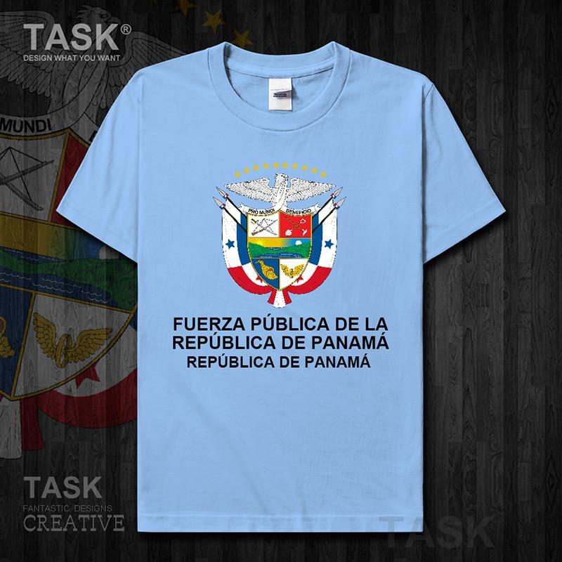 Air Force Panama Panamanian PAN clothes Short sleeve new Tops t shirt country sweatshirt sports cotton Army Tactical Military 01