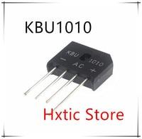 10PCS KBU1010 KBU-1010 10A 1000V diode bridge rectifier new and original IC