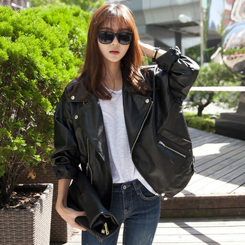 2021 Spring Autumn Fall Sheep Genuine Leather Coat Female Loose Casual Women's Jacket Outerwear Plus Big Size Clothing Trend XXL