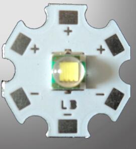 20PCS ORIGINAL XML XM-L T6 U2 White 10W High Power LED Emitter Bulb with 20mm Heatsink For Flashlight DIY Light Beads