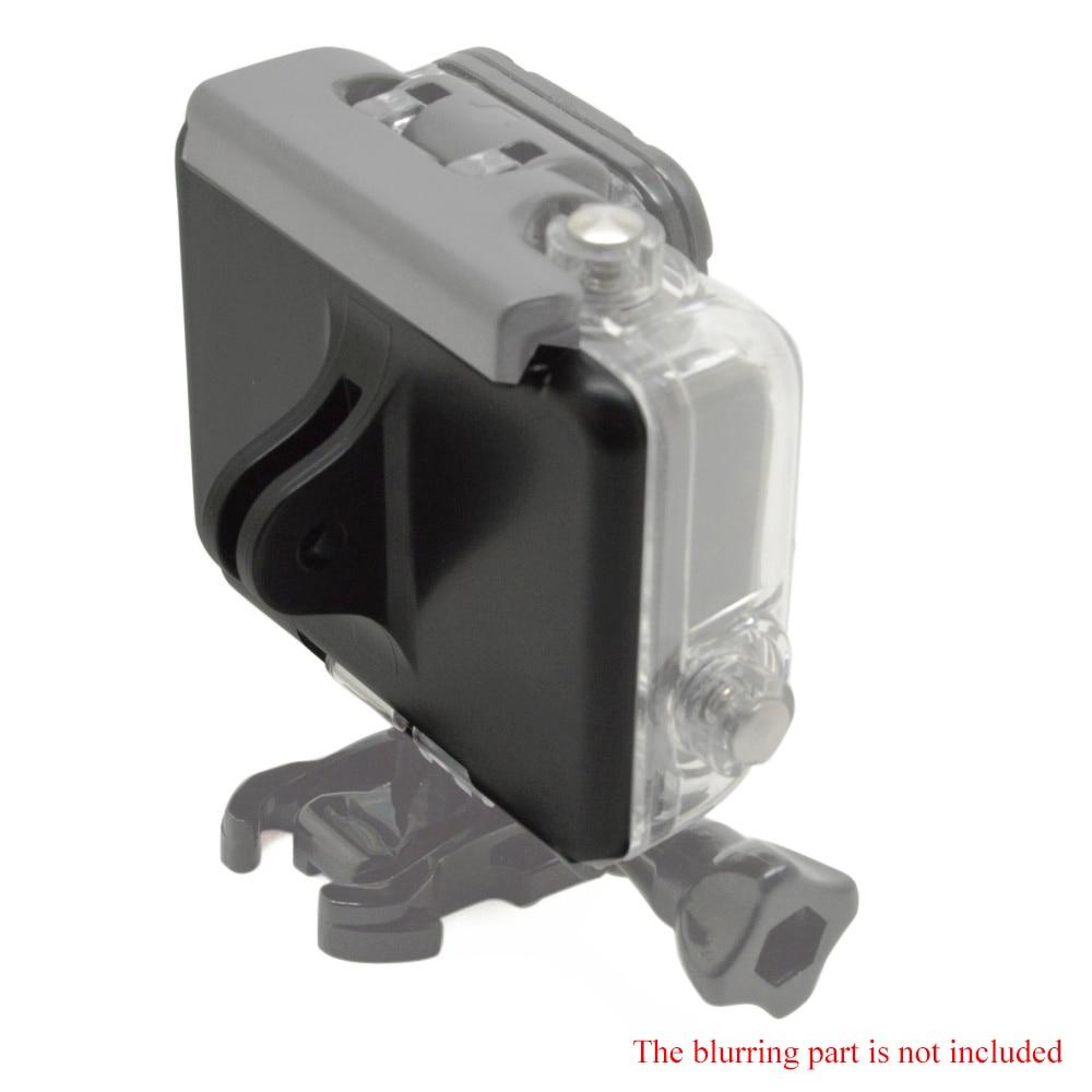 Andoer 2 in 1 Skeleton Backdoors mit Festen Stift Block Wasserdichte Fall Backdoor + Perforiert Backdoor Fall Abdeckung für GoPro