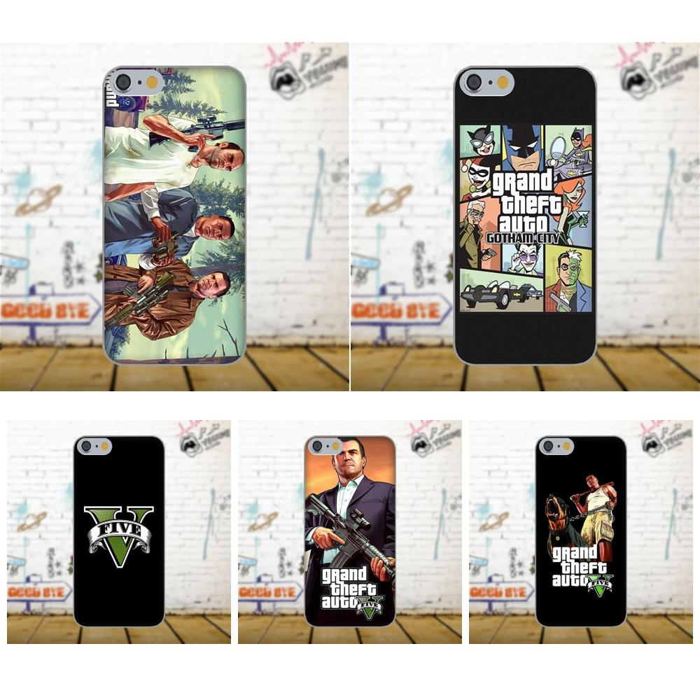Oedmeb Soft TPU Case Mobile Grand Theft Auto Gta For Xiaomi Redmi 5 4A 3 3S Pro Mi4 Mi4i Mi5 Mi5S Mi Max Mix 2 Note 3 4 Plus