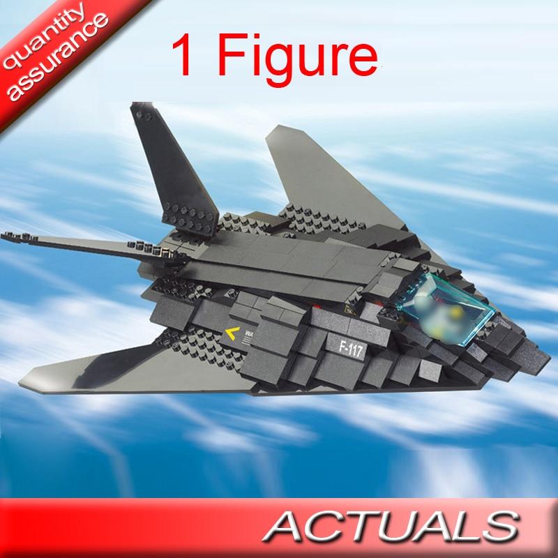 209 Uds. Fighters bloques educativos de construcción del ejército juguetes Sluban 0108 DIY ladrillos ensamblados juguetes para niños 1 MOC