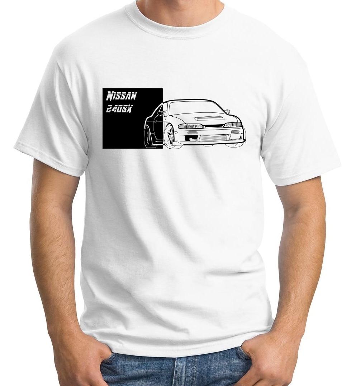 Camiseta de bloques Zenki 240Sx S14 con diseño de leyenda clásica japonesa, Kit de piezas de escape Jdm, camiseta ajustada única